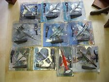 Job Lot 10 x Amercom (Amer Com) Jet Fighters/Planes 1:72 / 1:100 all New/Boxed