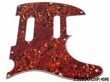 *NEW Brown Tortoise Nashville Telecaster PICKGUARD for Fender USA Tele 8 Hole