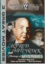 Alfred Hitchcock - Montage of Mysteries (DVD, 2003, Vintage Movie Classics)