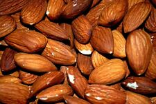 ALMONDS ROASTED SALTED,1LBS - (premium quality ) A PERFECT HEALTHY  SNACK -