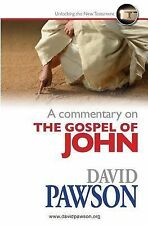 A Commentary on the Gospel of John by David Pawson (2014, Paperback)