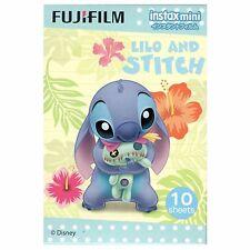 10 Sheet Fujifilm Instax Disney Lilo and Stitch Instant Film 7 7s 8 10 20 25 50