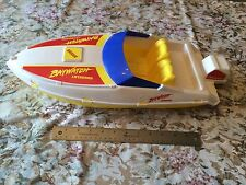 "USED Baywatch TV Show 1990 Mattel Arco 20"" Lifeguard Speed Boat Barbie RARE Toy"