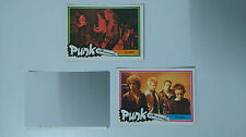 The Clash Monty punk the new wave vintage SMALL MINI cards set