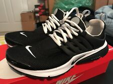 Men NIKE Air Presto BR QS Running Shoes Black/White Small 9-10 Used