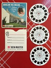 View-Master 3-Reel Set MOVIELAND WAX MUSEUM, CA A234 Complete