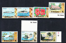 KIRIBATI 1979-80 DEFS SET ALL CROWN TO RIGHT OF CA SG 86w-99aw MNH.