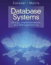 Database Systems : Design, Implementation, and Management by Carlos Coronel and
