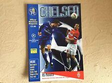 Chelsea v Monaco 2003-04 Programme