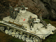 Custom Built 1:35 WWII German LAH-Panzer Crew Set (5)