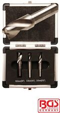 BGS Tools Spot Weld Cutter Set Tungsten Carbide Steel 5080