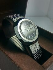 NOS Citizen vintage automatic Gray dial watch new old stock, MINT 80's stock L6*