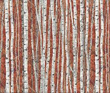 Landscape Trees Silver birch Autum fat quart 50x56 cm Makower 1355 N 100% Cotton