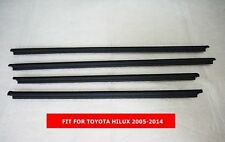 TOYOTA HILUX 2005-2014 GENUINE WINDOW GLASS SEALS DOOR BELT WEATHER STRIP