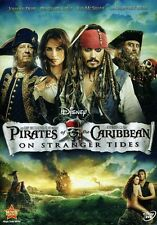 Pirates of the Caribbean: On Stranger Tides (2011, DVD NEUF) WS