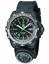 Luminox 8832.MI Recon NAV SPC Compass GMT Black Rubber Strap Watch