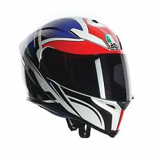 AGV K5 Graphic Bike Helmet - Roadracer White/Red/Blue St George - Small (56cm)