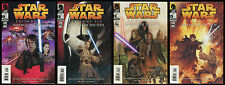 Star Wars Episode 3 Revenge of the Sith Comic Set 1-2-3-4 Lot Movie Dave Dorman