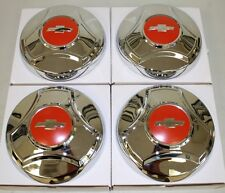 1964 1965 1966 CHEVROLET TRUCK 1/2 TON HUBCAP NEW SET OF 4 CHROME