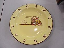 "LOT OF 3 RARE VINTAGE MONTERREY WESTERN WARE 10""  CHUCKWAGON ENAMELED PLATES"