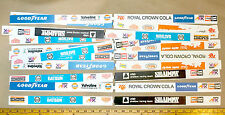20pc 1974 Aurora AFX Slot Car BILL BOARDS Billboard Race Wall Guardrail ONLY
