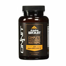 Onnit Labs Alpha Brain, 90 Caps Nootropics clarity brain joe rogan last 1 left