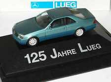 1:87 Mercedes-Benz S 600 Coupe W140 beryl green - 125 Years Lueg - herpa