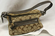 Coach Womens Handbag A06W-6044 Small Purse Great Used Condition Brown 2011