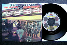 """7"""" The Beatles - Movie Medley - US Capitol w/ Pic"""