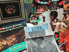 2 lp lot michael jackson jackson five poster greatest hits farewell my w/article