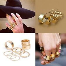 9pcs Above Knuckle Obergelenkring Midi Ring Punk modisch Fingerspitzenring