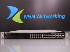 Cisco SFE2000P V01 24-Port Small Business Managed PoE 10/100 Switch w/ Rack Ears