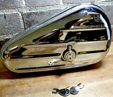 "Chrome ""Kidney"" Toolbox Replaces Harley Davidson 64205-40 1940-1957 Twins"