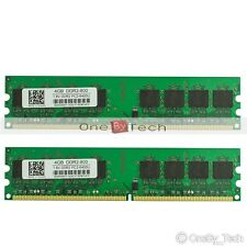 DDR2 8GB 2x4GB RAM PC2-6400 DDR2-800Mhz 240pin Desktop Memory For Intel&AMD MB