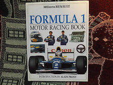 Williams Renault Formula 1 MOTOR RACING BOOK-LIBRO 1994 HB DJ