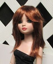 """Doll Wig, Monique Gold """"Misty"""" Size 7/8 in Foxy Red"""