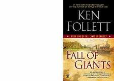 Fall of Giants: Book One of the Century Trilogy Follett, Ken Mass Market Paperb