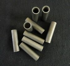 PAIR OF TWO INCH LONG HEXOLOY SILICON CARBIDE CERAMIC TUBE HEATER  No.: 62