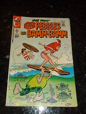 Teen-Age PEBBLES & BAMM-BAMM - No 8 - Date 11/1972 - Charlton Comic