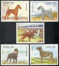 Ireland 1983 Irish Dogs/Pets/Working/Animals/Nature/Spaniel/Terriers 5v (n41301)