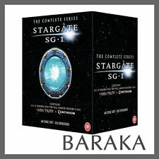 Stargate SG1 Complete Series 1-10 plus The Ark of Truth/Continuum DVD Box Set