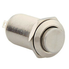 Vehicle Durable 12Mm 12V Push Button Self-Locking Metal Switch For Car