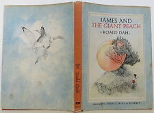 ROALD DAHL James and the Giant Peach SIGNED FIRST EDITION