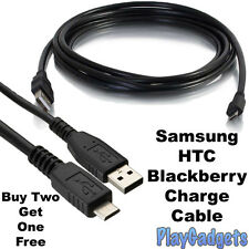 Micro USB Data Charger Cable Lead A Male to Micro B For Samsung S3 S4 S5 1m