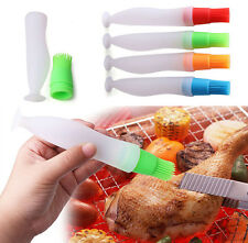 Silicone Baking Brush Liquid Oil Pen Cake Butter Bread Pastry BBQ Utensil Tool