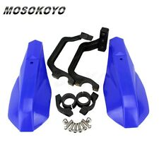 "Blue 7/8"" Motorcycle Handlebars Hand Guard Universal For Snowmobile ATV MOS"