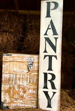 "Large Rustic Wood Sign - ""Pantry"" - Vertical - 3 Feet!!! - Fixer Upper, Kitchen"