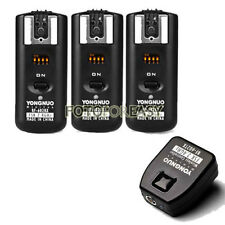 Yongnuo RF602 Flash Trigger fr Canon T6s T1i T2i T3i T4i T5i T5 with 3 Receivers