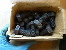 "Pack of 2 Hex Head Bolts 3/4 x 1 1/2"" long Vintage BSF WHITWORTH New old stock"