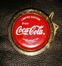 GENUINE RUSSELL COCA COLA COKE LIMITED EDITION GOLD FLECK YO-YO YOYO YO YO